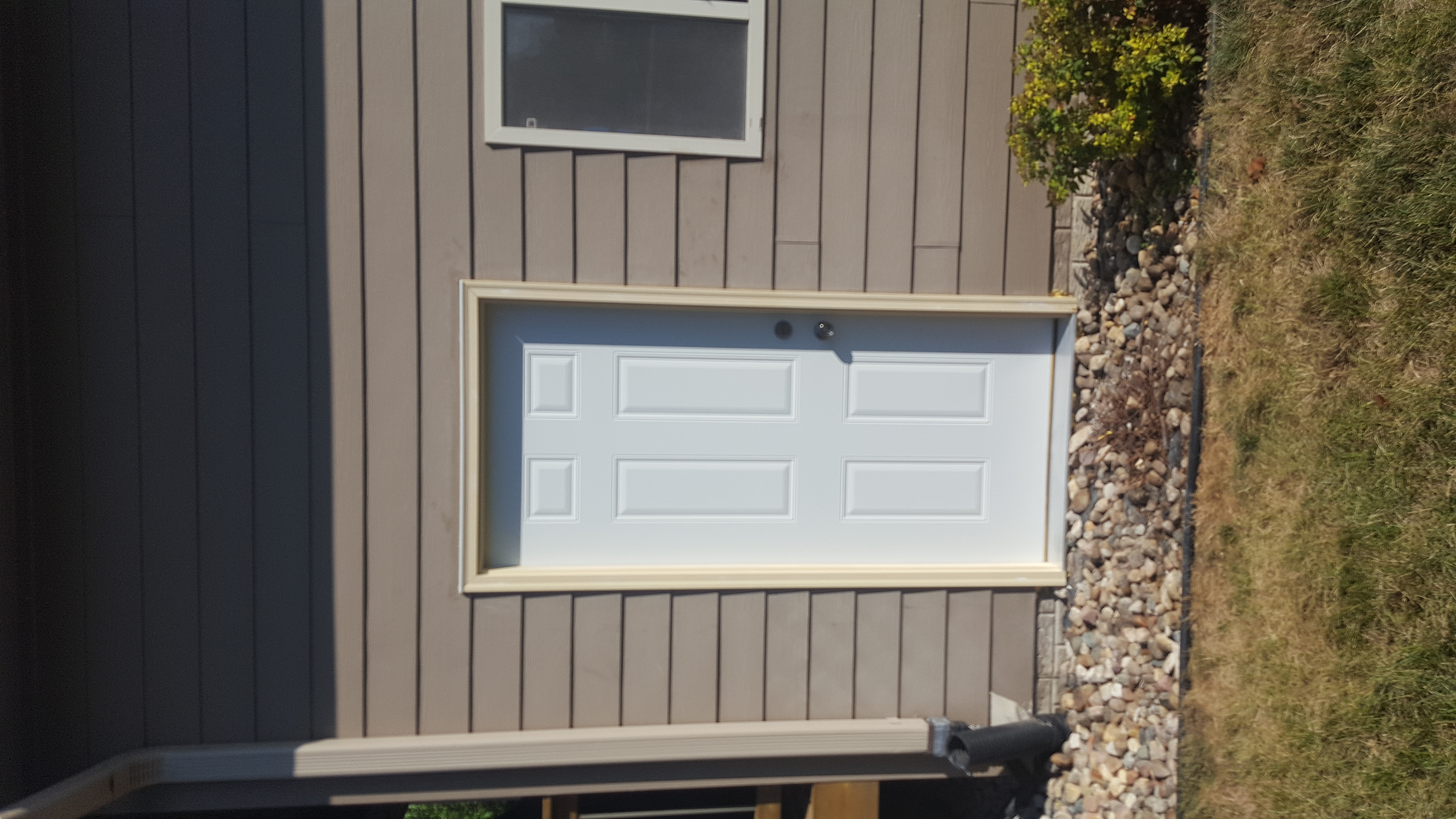 Gallery for Garage man door